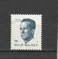 Belgique Oblitéré  1990  N° 2353    Baudoin - Used Stamps