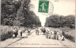 78 SAINT NOM LA BRETECHE - Sortie De La Foret De Marly - St. Nom La Breteche
