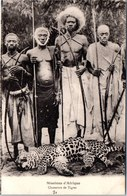 AFRIQUE - Groupe De Chasseurs De Tigres - Postales