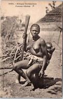 AFRIQUE OCCIDENTALE - Type De Femme Cérère - Postales