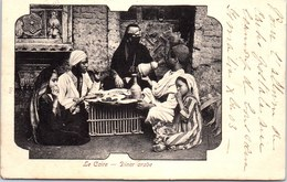 EGYPTE - LE CAIRE - Diner Arabe. - Andere
