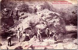 ETHIOPIE - Dans Les Contrées Galla. - Ethiopie