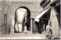 TUNISIE - TUNIS - La Porte Et Souk El Bey - Tunisie
