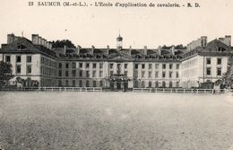4938SaumurL'Ecole D'application De CavalerieNon Circulée - Saumur