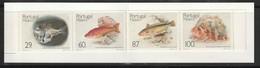 Madère - N° 136/9a ** (1989) Poissons - CARNET - - Madeira