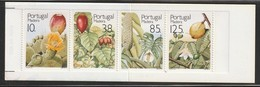 Madère - N° 160/3a ** (1992) Fruits - CARNET - - Madeira