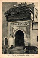 Fes, Porte De La Mosquée Bab-Guissa.  Marruecos // Maroc - Maroc