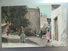 SCENES ET TYPES        MENDIANTS  ARABES - Maroc