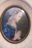 VIERGE - TETE DE LA VIERGE , D'après  J.LIPPI   - RELIGION -  ( GARANTI SUR IVOIRE  ) - ( Pas De Reflet Sur L'original ) - Autres
