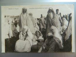 SCENES ET TYPES        FEMMES MAROCAINES EN VISITE - Maroc