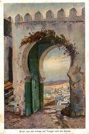 Blick Von Der Kasba Auf Tanger Und Die Reede.  Marruecos // Maroc - Maroc