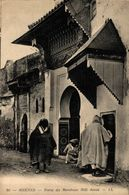 Meknés, Porte Du Maabout Sidi Amed.  Marruecos // Maroc - Maroc