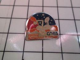 412c Pin's Pins / Beau Et Rare / THEME : ESPACE / CNES VEHICULE AUTOMATIQUE PLANETAIRE - Space