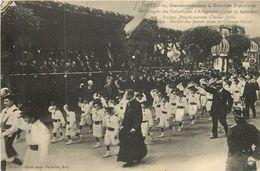 METZ Congrès Des Jeunes Gens De Chateau Salins 8/1913 - Metz