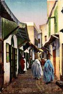 Tanger, Rue De La Casbah.  Marruecos // Maroc - Maroc