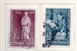 1949 - FINLANDIA - Mi. Nr. 356/357 - USATI -  (UP.70.49) - Usati