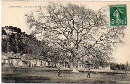 LAMANON - Le Geant De Provence - Cachet : Avignon à Miramas    (1828 ASO) - Francia