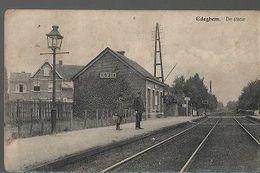 ST/11//    EDEGEM     DE STATIE 1912 - Belgium