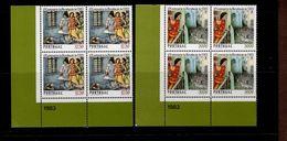 1608 - 1609 Revolution Von 1383 ER 4er Block Unten Links Neuf MNH ** Postfrisch - 1910-... Republik