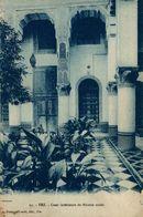 Fez, Cour Interieure De Maison Arabe.  Marruecos // Maroc - Maroc