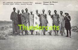 CPA EST AFRICAIN ALLEMAND OCCUPATION BELGE RWANDA KIGALI GROUPE DE WATUZI - Rwanda