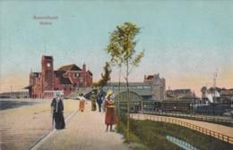 48189Amersfoort, Station. – 1916. (bovenin Vouwtje) - Amersfoort