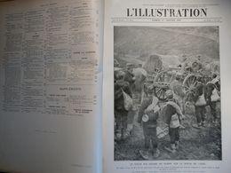 Illustration 1916 WW1 Boesinghe Salonique Moosch Corfou Cameroun Woevre Lorette Revigny Liouville Verdun Vaux Douaumont - Zeitungen