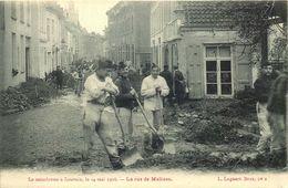 BELGIQUE  LOUVAIN  Le Cataclysme  14 Mai 1906  La Rue De Malines - Other