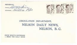 56296 ) Canada  Hills Postmark  1967 - Brieven En Documenten