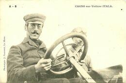 72 SARTHE LE MANS ? PILOTE COURSE AUTOMOBILE CAGNO  VOITURE ITALA GROS   PLAN  A VOIR - Cartes Postales