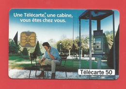 TELECARTE 50 U   TIRAGE 2 000 000 EX  Cabines - 1997