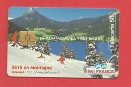 TELECARTE 50 U   TIRAGE 1 000 000 EX  La Montagne - 1997
