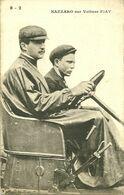 72 SARTHE LE MANS ? PILOTE COURSE AUTOMOBILE NAZZARO    Sur VOITURE  FIAT  GROS   PLAN  A VOIR - Cartes Postales