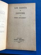 Les Saints De Janvier Par Omar Englebert ( Livre De 62 Pages De 14,5 Cm Sur 18 Cm) - Religion & Esotericism