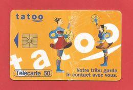 TELECARTE 50 U   TIRAGE 2 000 000 EX  TATOO - 1996