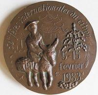 Médaille 50éme Fêtes Du Citron Menton 5 - 15 Février 1983, Par P. Lovy - Autres