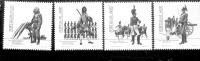 1645 - 1648 Militäruniformen Heer  ** Postfrisch MNH - 1910-... Republik