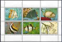 1972 SHARJAH Michel 1194-99  ** Poissons D'aquarium - Schardscha