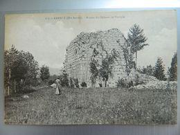 AMANCY           RUINES DU CHATEAU DE VOZERIER - Frankreich
