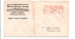 PANAMA CANAL ZONE EMA SUR LETTRE DE CRISTOBAL POUR LES USA 1957 - Panama