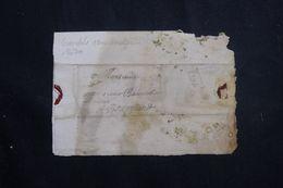 FRANCE - Lettre De Grenoble Pour Bourgoin En 1679 - L 64684 - Marcophilie (Lettres)