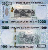 RWANDA       1000 Francs       P-New       1.2.2019      UNC - Rwanda