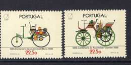1686 - 1687 100 Jahre Automobil MNH ** Postfrisch - 1910-... Republik