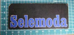 SELEMODA ETICHETTA CARTONE ORIGINAL - Vintage Clothes & Linen