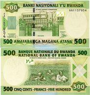 RWANDA       500 Francs       P-30a       1.7.2004       UNC - Rwanda