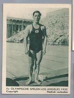 Xe Olympische Spelen Los Angeles 1932. Japanner Tsuruta. Zwemmen 200 Meter Schoolslag - Other