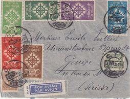 """PORTUGAL : PA . DE """" LISBONNE """" . POUR LA SUISSE . 1940 . - 1910-... Republik"""
