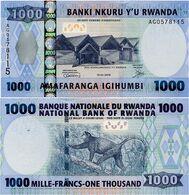 RWANDA       1000 Francs       P-35       1.2.2008       UNC - Rwanda