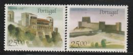 PORTUGAL - N°1697/8 ** (1987) Châteaux  (V) - 1910-... Republik