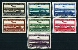 Siria (Francesa) Nº A-87/93 Nuevo*/(*) - Syrie (1919-1945)